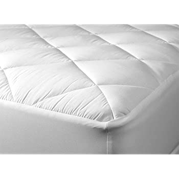 Egyptian Bedding HARD-TO-FIND Five-Star Hotel LUXURIOUS Cool & Extra Plush 100% BAMBOO Fitted Mattress Topper Pad, 10 Year Warranty, King Size