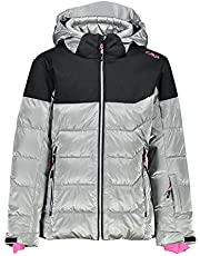 CMP Girls Shiny Ski Jacket, Girls, 30W0215