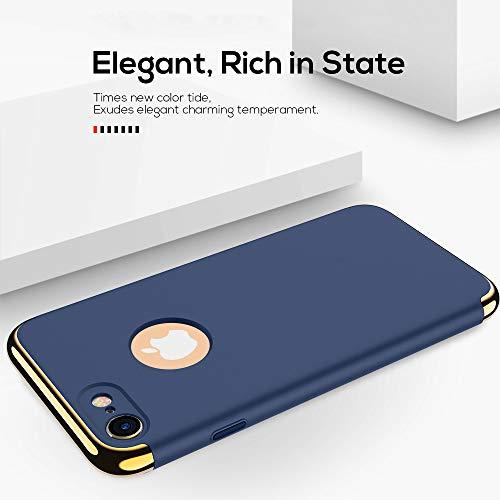 iPhone 7 Case/iPhone 8 Case, NAISU iPhone 7/8 Back Cover, Ultra Slim & Rugged Fit Shock Drop Proof Impact Resist…