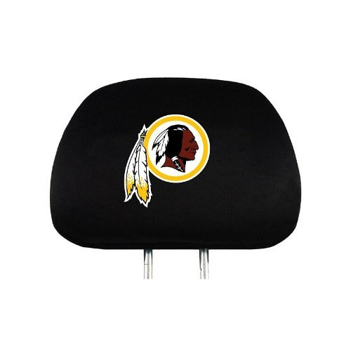 ProMark NFL Washington Redskins Auto Headrest Covers Set of Two