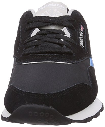 Mixte Basses Reebok White Noir Black Classic Blue Sneakers Steel Adulte Nylon California 744wtfqUxX