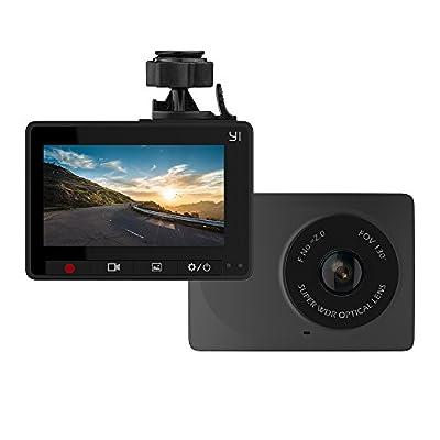 YI Dash Cam, 2.7 Inch LCD Screen Dash Camera