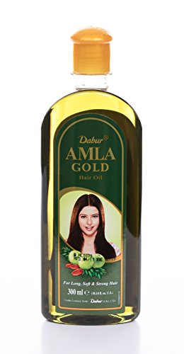 Dabur Amla Gold Hair Oil, 300 ml Bottle
