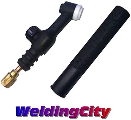 SR-9V WP-9V Tig Welding Torch Flexible 125A Air-cooled Head Body with Gas Valve