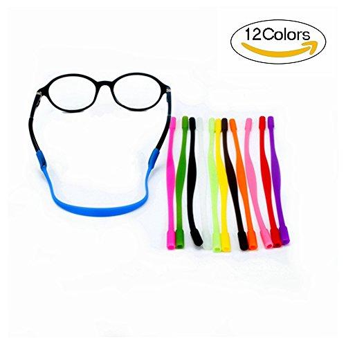 12 Colors Anti-slip Glasses Strap Sports Glasses Strap Holder for Kids Glasses chain 12 Pieces