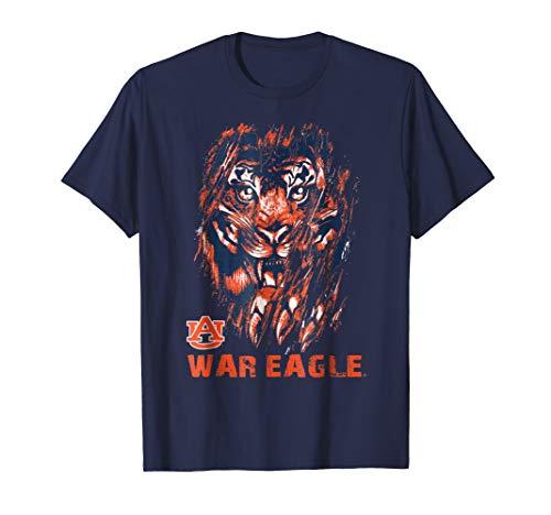 Auburn Tigers Tiger Scratching Slogan T-Shirt - Apparel