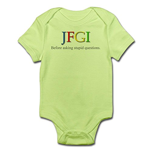 CafePress JFGI Infant Bodysuit - Cute Infant Bodysuit Baby Romper (Raisin Infant Girl)