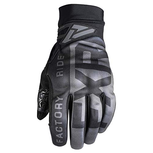 FXR 2019 Cold Cross Gloves - Pro Tec (X-LARGE) (BLACK OPS) (Fxr Snowmobile Gloves)