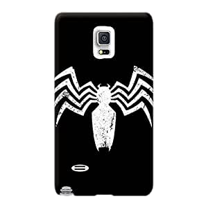 KennethKaczmarek Samsung Galaxy Note 4 Protector Hard Phone Cover Support Personal Customs Attractive Venom Logo Image [fcw11497nvka]