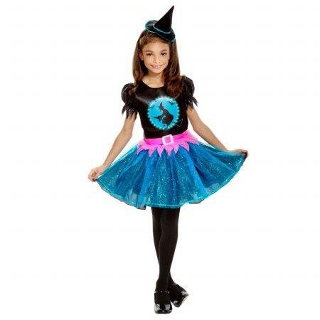 [Palamon - Light Up Witch Child Costume - Medium (8/10)] (Girls Light Up Witch Costume)
