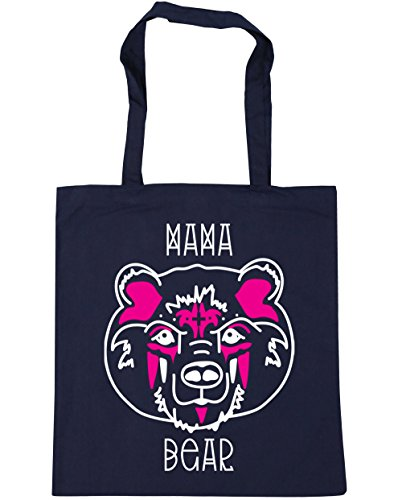 Bag Bear Shopping 10 Beach Navy HippoWarehouse Tote Mama x38cm Gym litres 42cm French tOqxFYx