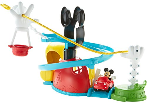 Fisher-Price – Disney Mickey Mouse Clubhouse – Zip, Slide and Zoom Clubhouse