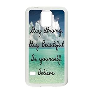 Stay Strong Unique Fashion Printing Phone Case for SamSung Galaxy S5 I9600,personalized cover case ygtg607626
