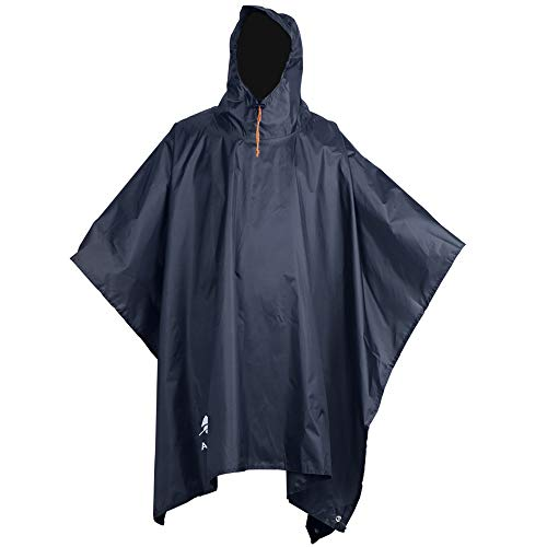3b381770d54d4 Anyoo Waterproof Rain Poncho Lightweight Reusable Hiking Rain Coat Jacket  with Hood for Boys Men Women