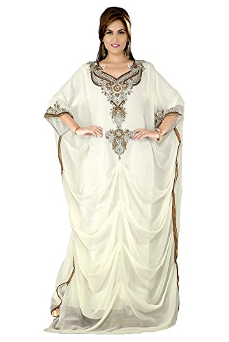 Caftan islamique PalasFashion Robe de soirée KKPF17127 femmes