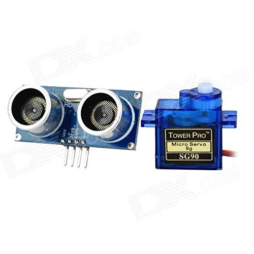 Robotbanao Sg90 Servo Motor and Ultrasonic Price & Reviews
