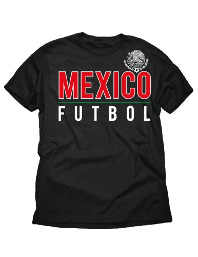 Mexico Tee World Cup (World Cup Soccer Mexico Soccer Tee, XX-Large, Black)