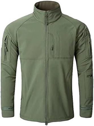 [Sponsored] Olive Tayl Men Fashion Military Hunt windcheater Jacket Tactical Sharkskin Softshell Standcollar Fleece coats Army Clothing