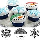 gel kitchen mats canada Autumn Carpenter Designs Cupcake Top Impression Mat Set - Winter
