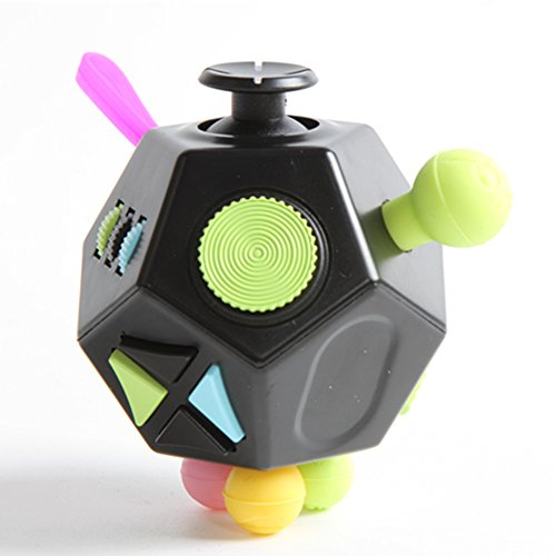 TorDen Stress Reducer Relieves Stress Cube Polyhedron Fidget Toy I II III and Mini Anxiety Attention Toy (D3)