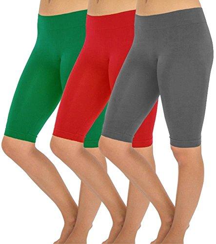 Simlu Seamless Workout Running Leggings