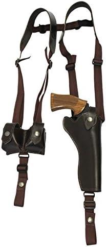 """NEW Barsony Vertical Gun Concealment Shoulder Holster for Colt 4/"""" Revolvers"""