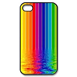 Wholesale Cheap Phone Case For Iphone 4 4S case cover -Rainbow And Glaring Color-LingYan Store Case 5