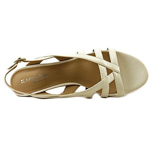Naturalizer - Sandalias de vestir para mujer Cream Smooth