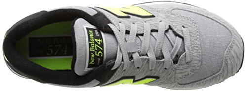 Wl574 yellow Gris Mode wta New Femme Balance B Baskets black Grey 5RwggFHvqY