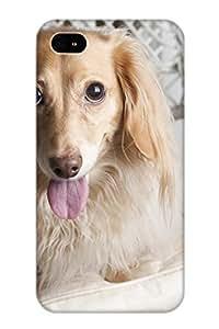 Exultantor High Quality Shock Absorbing Case For Iphone 4/4s-animal Dog