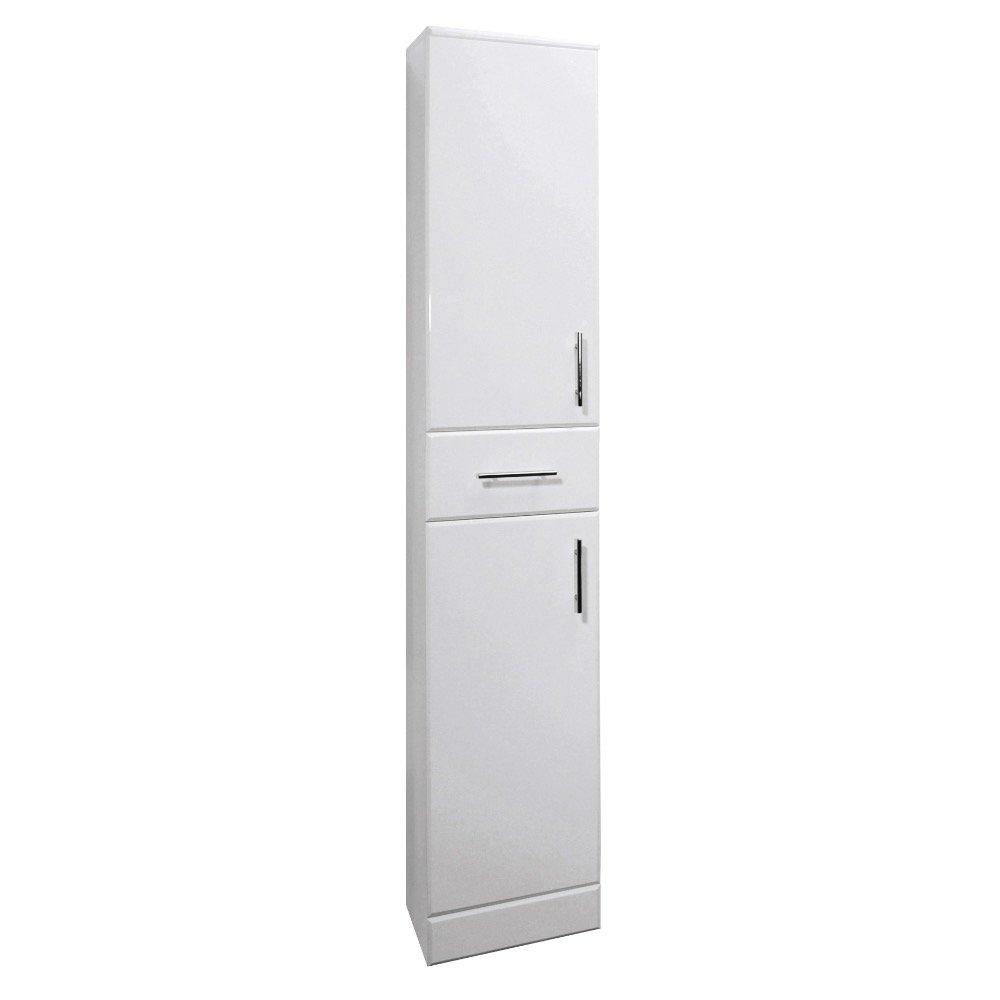 White Gloss Bathroom Units: Amazon.co.uk