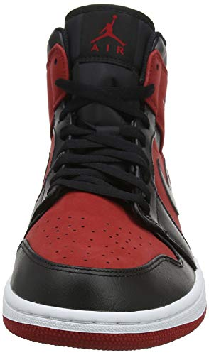 610 gym Red Homme Mid Hautes Jordan black Air 1 Nike Baskets white Multicolore wp87qFxYz