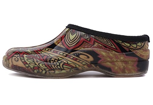 Boot Waterproof Albert Women's Rain Slip Shoe Tribal Charles Low On Garden and 6OqBcx