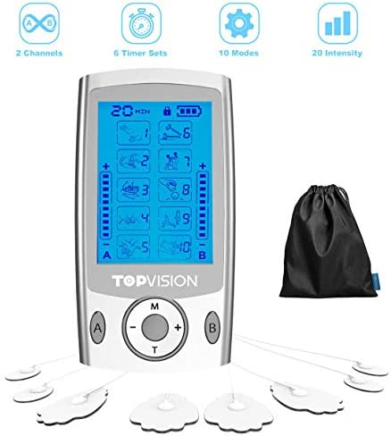 TOPVISION Electric Massager Stimulator Cleared product image