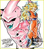 The most lottery Dragon Ball anime 30th Anniversary Buu pure and Goku E Award colored paper