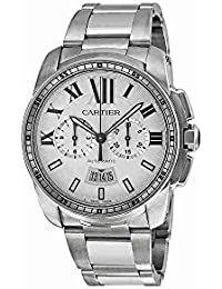 Calibre Men's Automatic Chronograph Watch with Stainless Steel Bracelet - W7100045