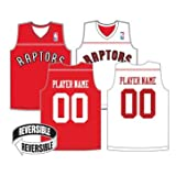 Youth Medium Toronto Raptors CUSTOM (Both Sides Any Name/#) Reversible Replica Jersey