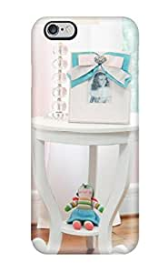New Fashion Case - New White Side Table And Lamp In Pink Nursery protective iphone 6 4.7 Classic JgYVoiOX3jX Hardshell case cover