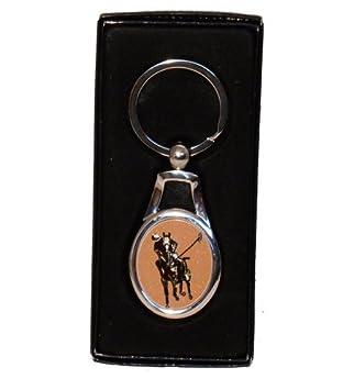 Sporting Figures Llavero de metal de Polo Pony: Amazon.es ...
