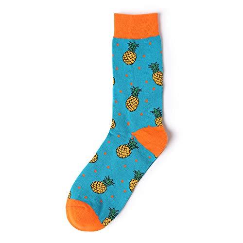 Realdo Mens Cartoon Cotton Socks,Men's Cute Warm Fashion Print Sock All Season ()