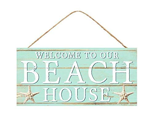 GiftWrap Etc. Wooden Beach House Welcome Sign - 12.5