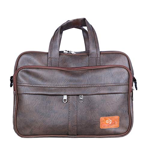 Tom & Gee Leather Messenger Bags – Brown Pack of 1 Bags (Brown)