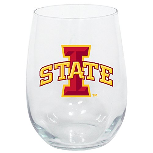 The Memory Company Iowa State Cyclones Stemless Wine Glass (Best States For Wine)