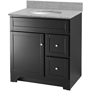 Foremost Wrea3021d Worthington 30 Inch Espresso Bathroom