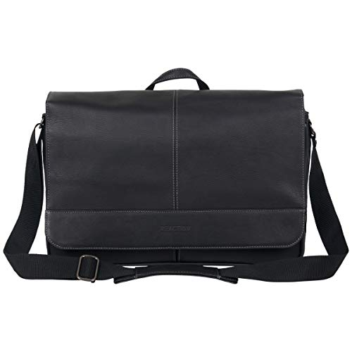 Kenneth Cole Reaction Come Bag Soon Leather 15.6