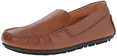 umi Saul III Mocassin Driver Slip-On Loafer (Big Kid) Cognac 38 EU(6 M US Big Kid)