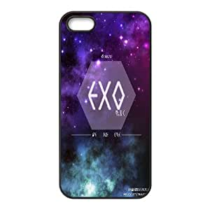 South Korea band EXO Poster Hard Plastic phone Case Cover+Free keys stand For Apple Iphone 5 5S Cases XFZ437099