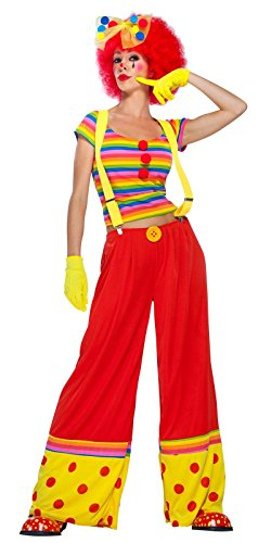 Moppie The Clown Costume - Small - Dress Size 4-6 -