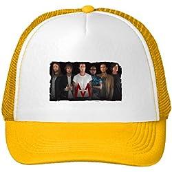 Maroon 5 Tour 2016 Poster Adjustable Trucker Cap Hat For Men Women