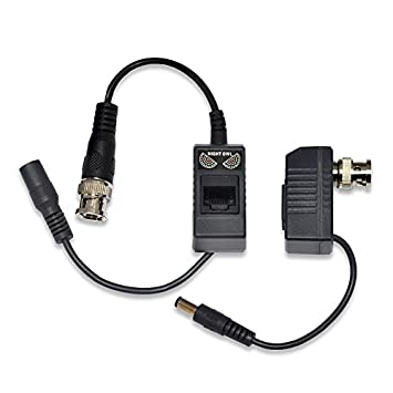 41ySZcKHSxL._SY355_ amazon com night owl security 1 pair passive video balun night owl camera wiring diagram at crackthecode.co